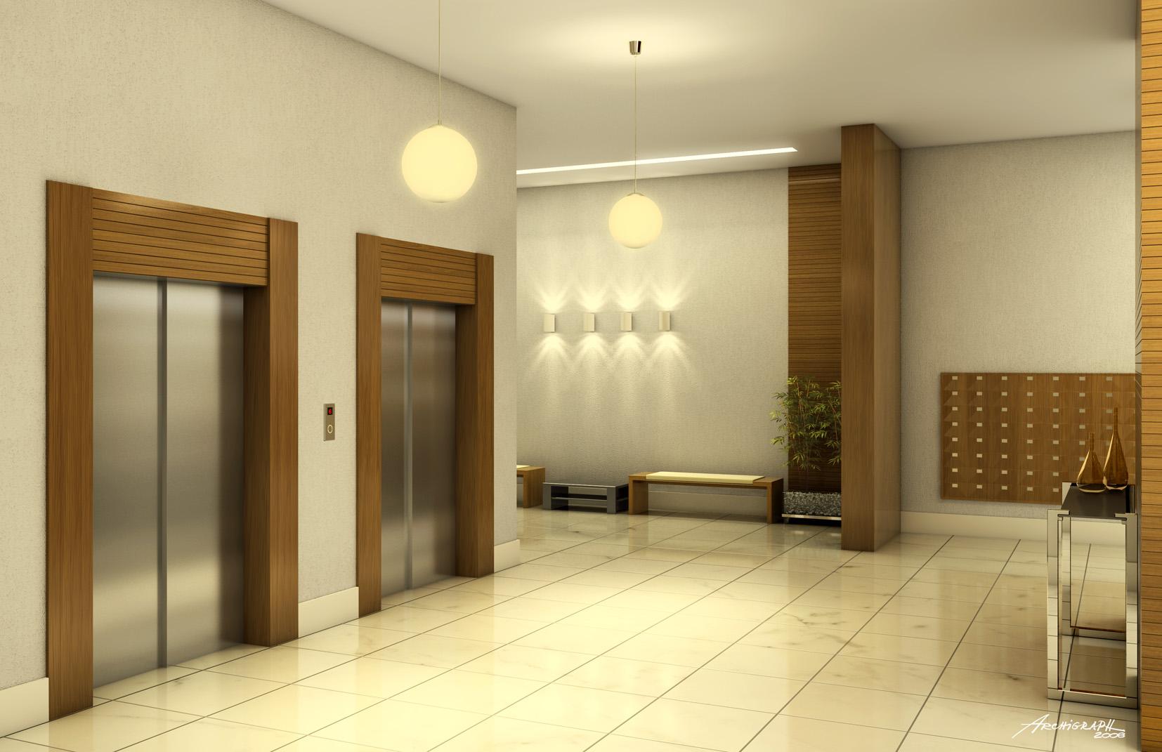 Hall principal do condomínio Effect Cobranças -> Decoração De Hall Social De Prédio